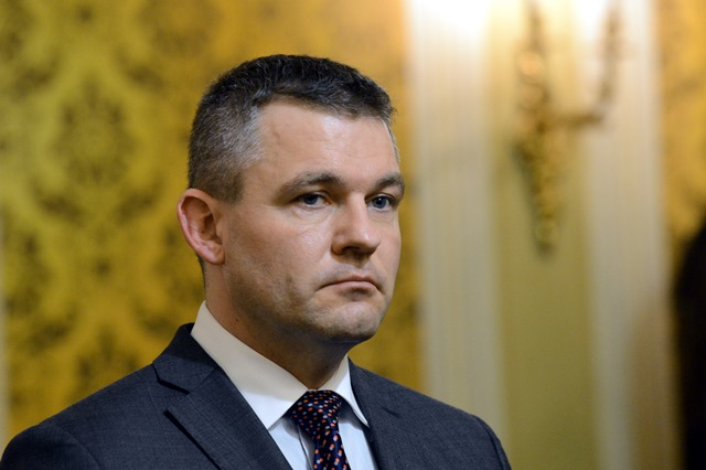 Na snímke predseda Národnej rady SR Peter Pellegrini