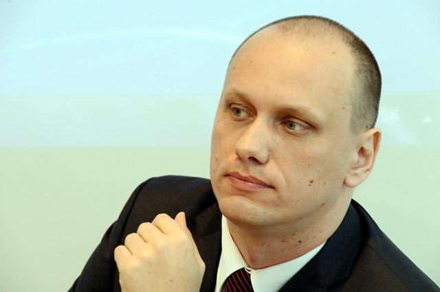 Na snímke riaditeľ Odboru kartelov PMÚ SR Peter Demčák