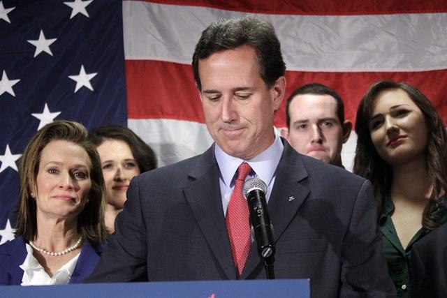 Na snímke Rick Santorum