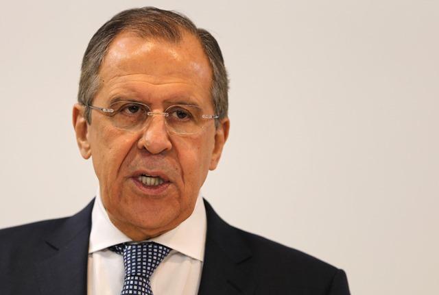 Na snímke šéf ruskej diplomacie Sergej Lavrov