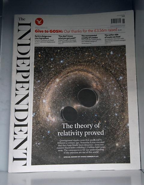 Na snímke denník The Independent