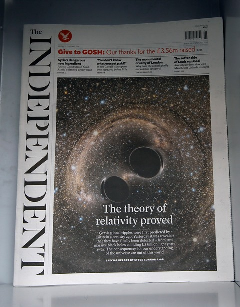 Na snímke denník The Independent