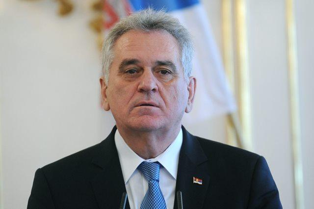Na snímke  prezident Srbskej republiky Tomislav Nikolič