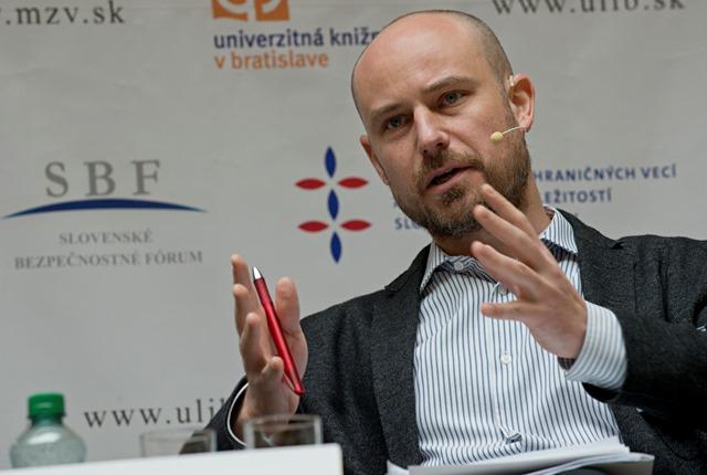 Na snímke Vladimír Bilčík