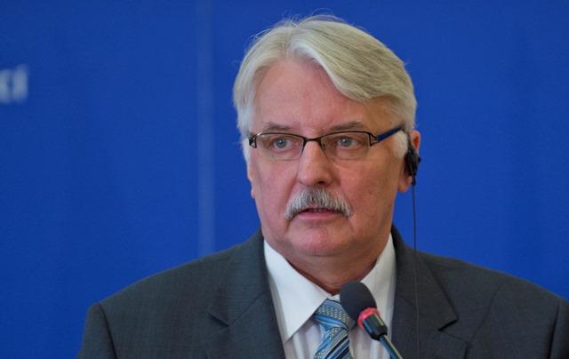 Na snímke minister zahraničných vecí Poľskej republiky Witold Waszczykowski