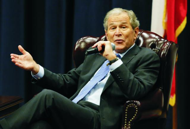 Bývalý americký prezident George W. Bush