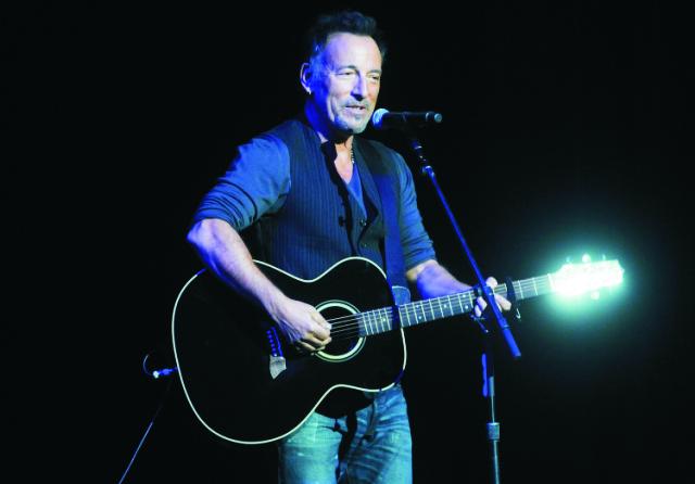 Americký spevák Bruce Springsteen