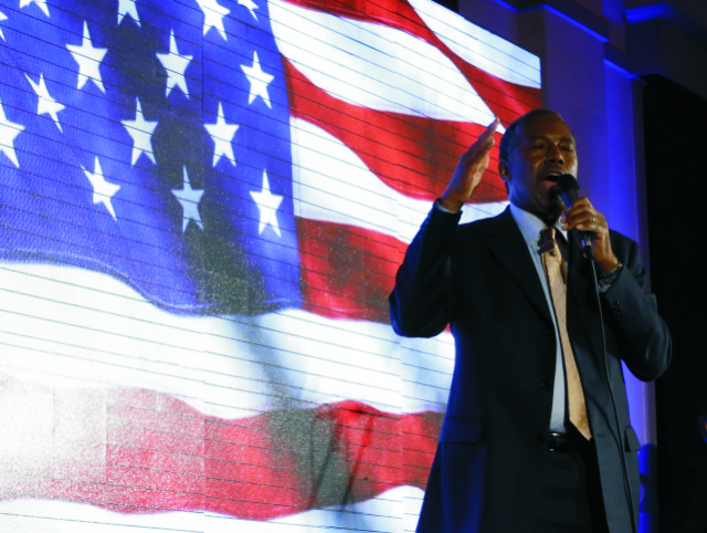 Uchádzač o prezidentskú nomináciu Republikánskej strany Ben Carson