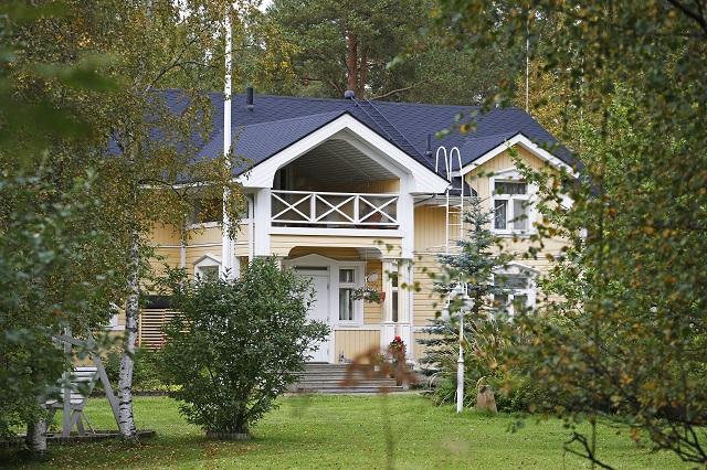 Dom, ktorý ponúkol fínsky premiér rodine utečencov