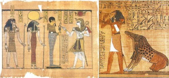 Egyptské artefakty sa hemžia vyobrazeniami ľudí so zvieracími hlavami alebo naopak a rôzne pokríženými zvieratami, ktoré ako keby boli poskladané z viacerých časti. Dopracuje sa dnešná veda k podobným výsledkom?