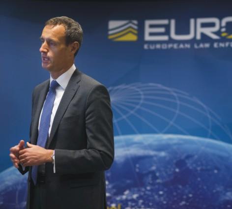 Riaditeľ európskeho policajného úradu Europol Rob Wainwright