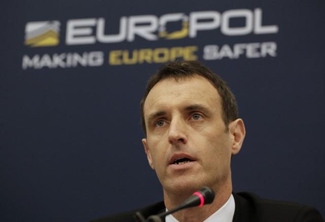 Na snímke riaditeľ Europolu Rob Wainwright