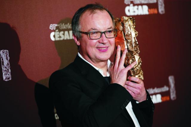 Hlavnú cenu Francúzskej filmovej akadémie - sošku Cézara za najlepší film - získala v piatok večer snímka režiséra Philippa Faucona (na snímke) s názvom Fatima v priebehu 41. Francúzska Cesar Awards Ceremony