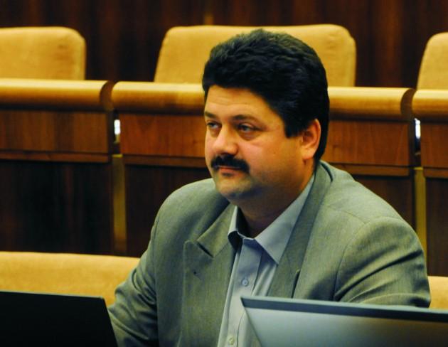Na snímke Igor Hraško