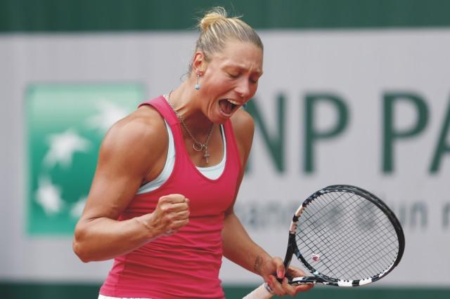 Na snímke belgická tenistka Yanina Wickmayerová