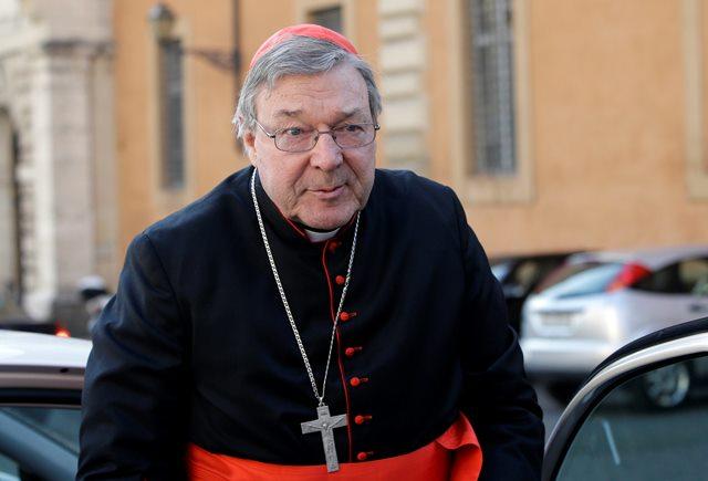 Na snímke austrálsky kardinál George Pell