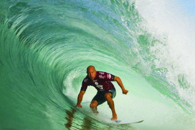 Surferská legenda Kelly Slater