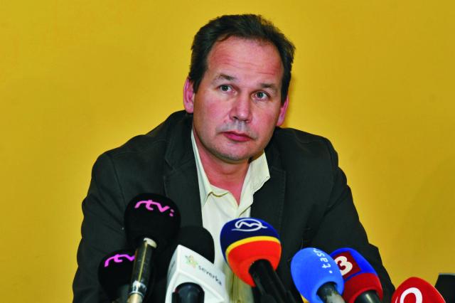 Na snímke riaditeľ Fakultnej nemocnice s poliklinikou Žilina Ivan Mačuga