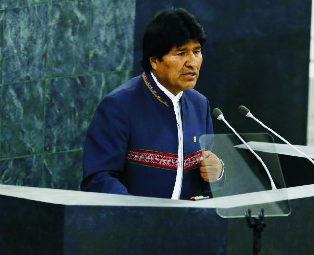 Bolívijský prezident Evo Morales