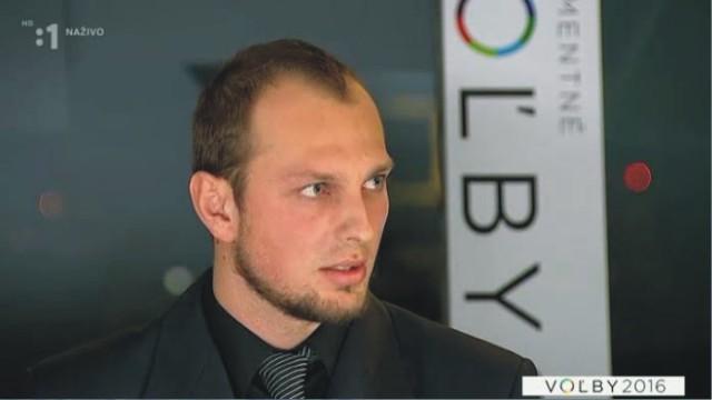 Na snímke predseda Vzdoru-strany práce Stanislav Pirošík