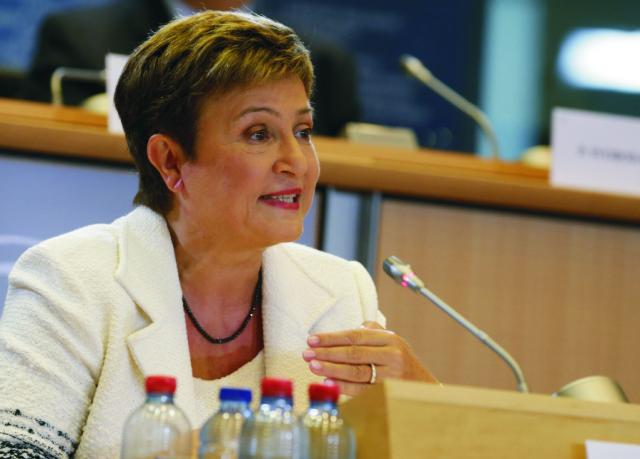 Podpredsedníčka Európskej komisie Kristalina Georgievová
