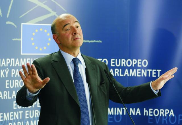 Dezignovaný eurokomisár pre hospodárske a menové záležitosti, dane a colnú úniu Pierre Moscovici
