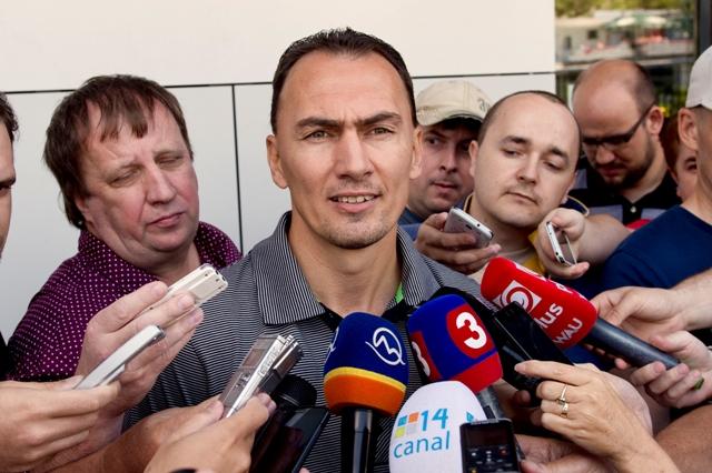 Na snímke bývalý slovenský hokejista Miroslav Šatan