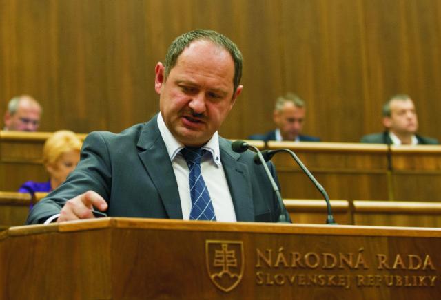 Na snímke poslanec parlamentu SR Zsolt Simon (Most-Híd)