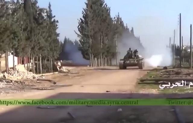 Sýrska vládna armáda pred začiatkom prímeria sa snaží ovládnuť čo najviac lokalít obsadených islamistami