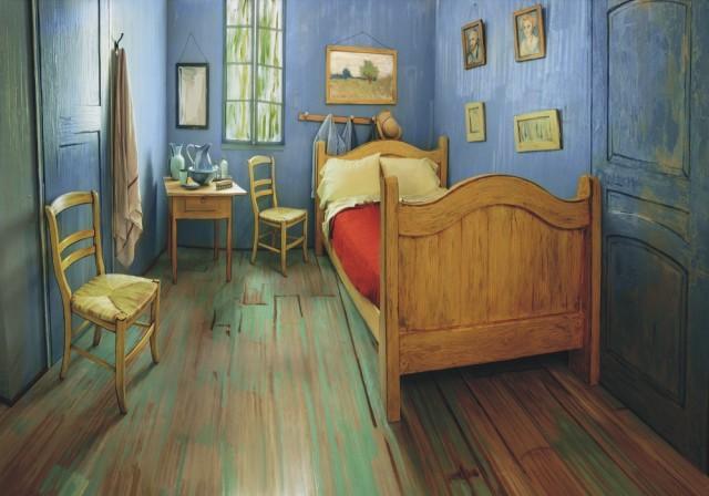 Na snímke obraz postimpresionistického maliara Vincenta Van Gogha