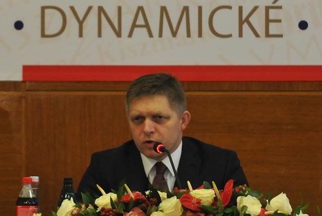 Na snímke predseda vlády SR Robert Fico počas rokovania 197. schôdze vlády Slovenskej republiky v Kežmarku