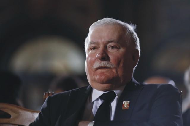 Na snímke bývalý poľský prezident Lech Walesa
