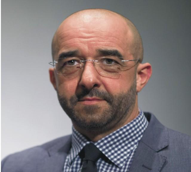 Na snímke hovorva maďarskej vlády Zoltán Kovács