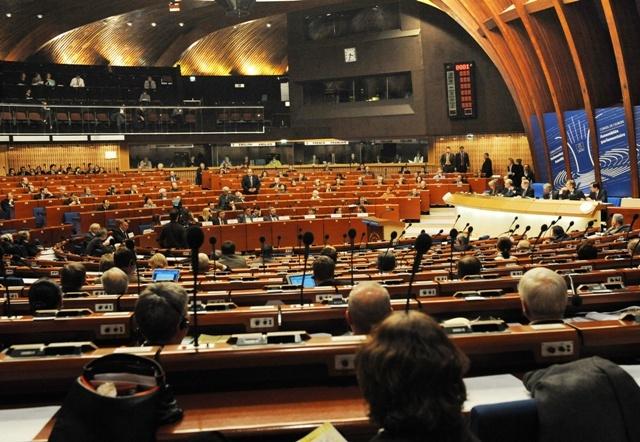 Na snímke rokovanie Parlamentného zhromaždenia Rady Európy