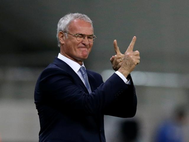 Na snímke tréner futbalistov Leicestru City Claudio Ranieri