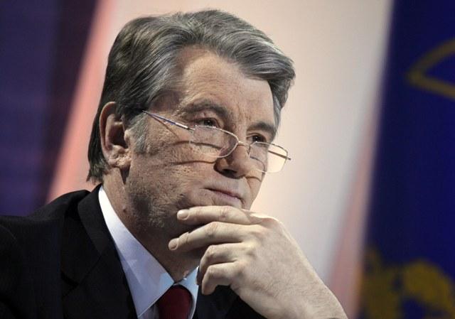 Na snímke Viktor Juščenko