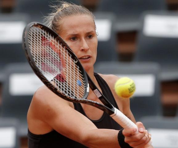 Na snímke slovinská tenistka Polona Hercogová