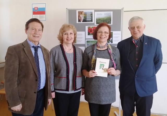 Ruskí spisovatelia na turné po Slovensku