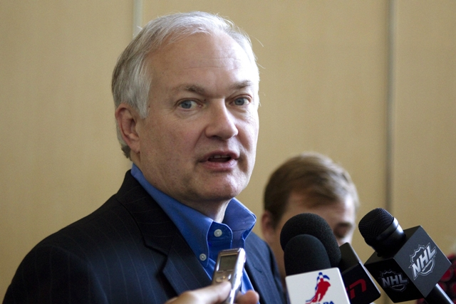 Na snímke šéf hráčskej asociácie NHLPA Don Fehr