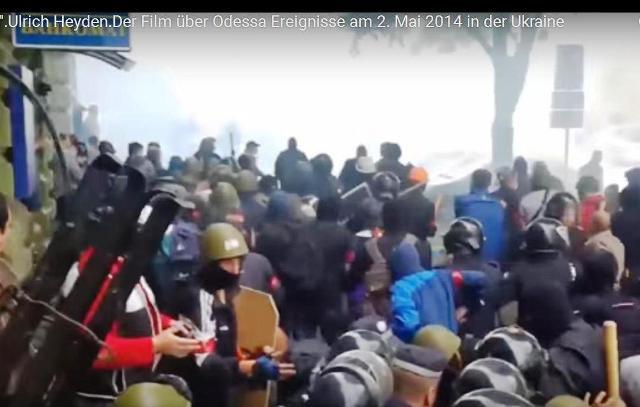 Nemecký dokumentarista Ulrich Heyden ešte vlani prezentoval na Západe svoj film o tragédii v Odese 2. mája 2014