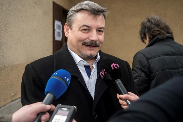 Na snímke predseda SMK József Berényi