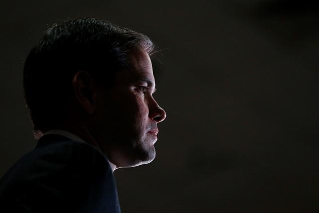 Na snímke americký republikánsky prezidentský kandidát a senátor za americký štát Florida Marco Rubio