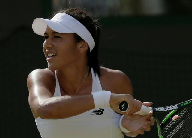 Na snímke britská tenistka Heather Watsonová