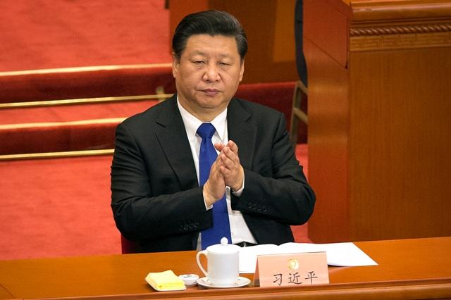 Na snímke čínsky prezident Si Ťin-pching