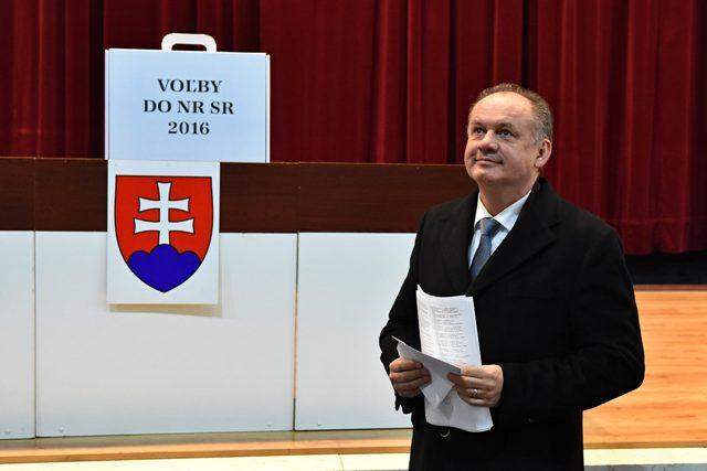 Na snímke prezident Slovenskej republiky Andrej Kiska
