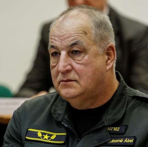 Na snímke viceprezident Policajného zboru SR Ľubomír Ábel