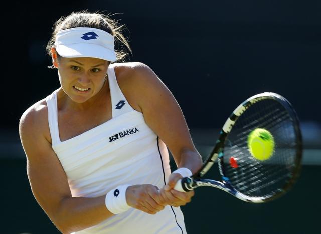 Na snímke slovenská tenistka Jana Čepelová
