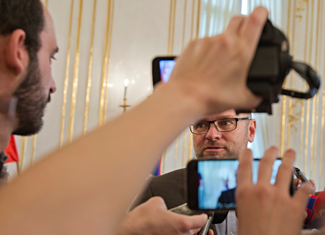 Na snímke líder strany SaS Richard Sulík