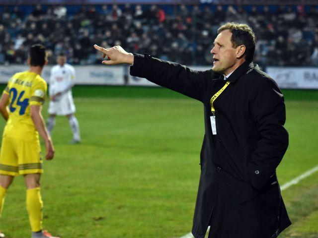 Na snímke tréner MFK Zemplín Michalovce Stanislav Griga