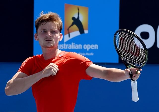 Na snímke belgický tenista David Goffin